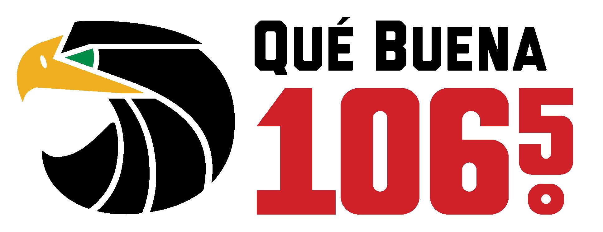 Univision Radio Que Buena 106.5 FM Logo