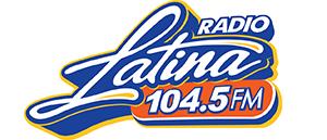 Radio Latina 104.5FM Logo