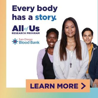 San Diego Blood Bank Web banner